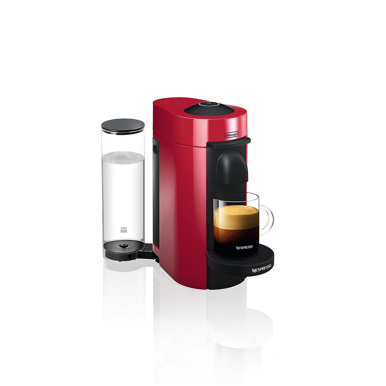 Nespresso by De Longhi ENV150R VertuoPlus Coffee and Espresso Machine by De Longhi, Red