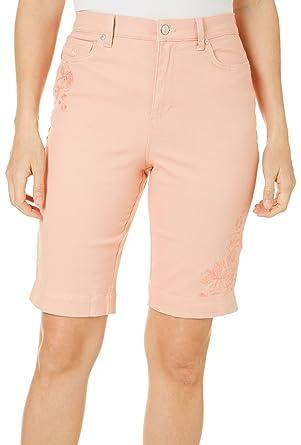 6207b9a05c GLORIA VANDERBILT Women's Amanda Bermuda Denim Short at Amazon Women's  Clothing store: