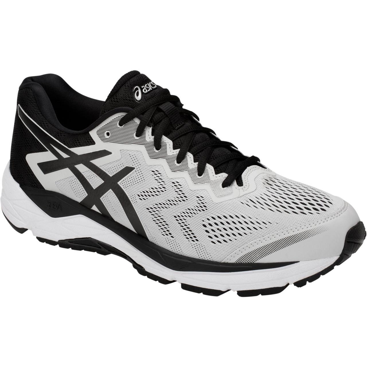 ASICS Men's Gel-Fortitude 8 Running Shoe B077MDLGPD 7 EE US|Glacier Grey/Black
