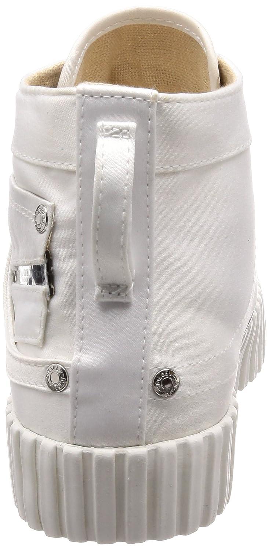 DIESEL Weiß Weiblich S-Exposure CMC W Sneaker mid Weiß DIESEL (Y01647-pr189-t1003) 0cd2bb