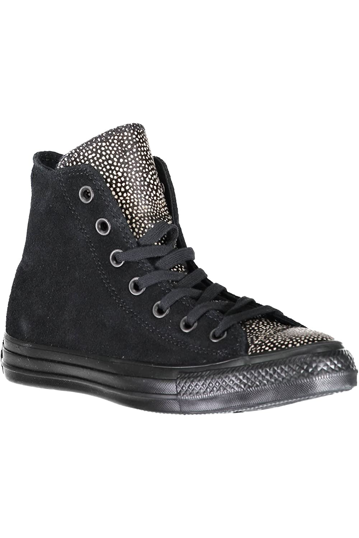 Converse Chuck Taylor All Star, Zapatillas Altas Unisex Adulto 43 EU|Nero Black/Black/Black