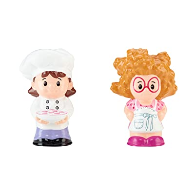 Fisher-Price Little People Sofie & Chef: Toys & Games