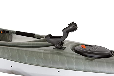 Pelican Boats - Kayak Swivel Fishing Rod Holder - PS0579-2 – Adjustable for  Boat and Kayak – for Spinning and Baitcasting