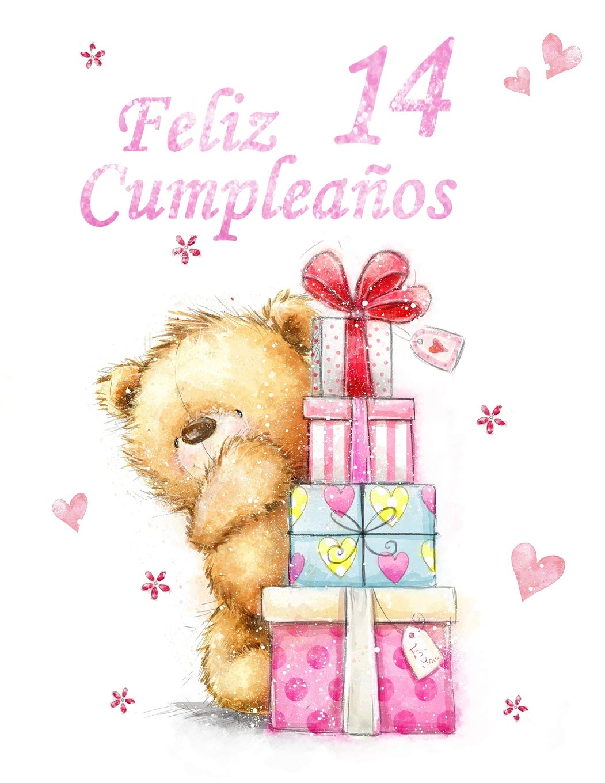 Amazon.com: Feliz Cumpleaños 14: Mejor Que una Tarjeta de ...