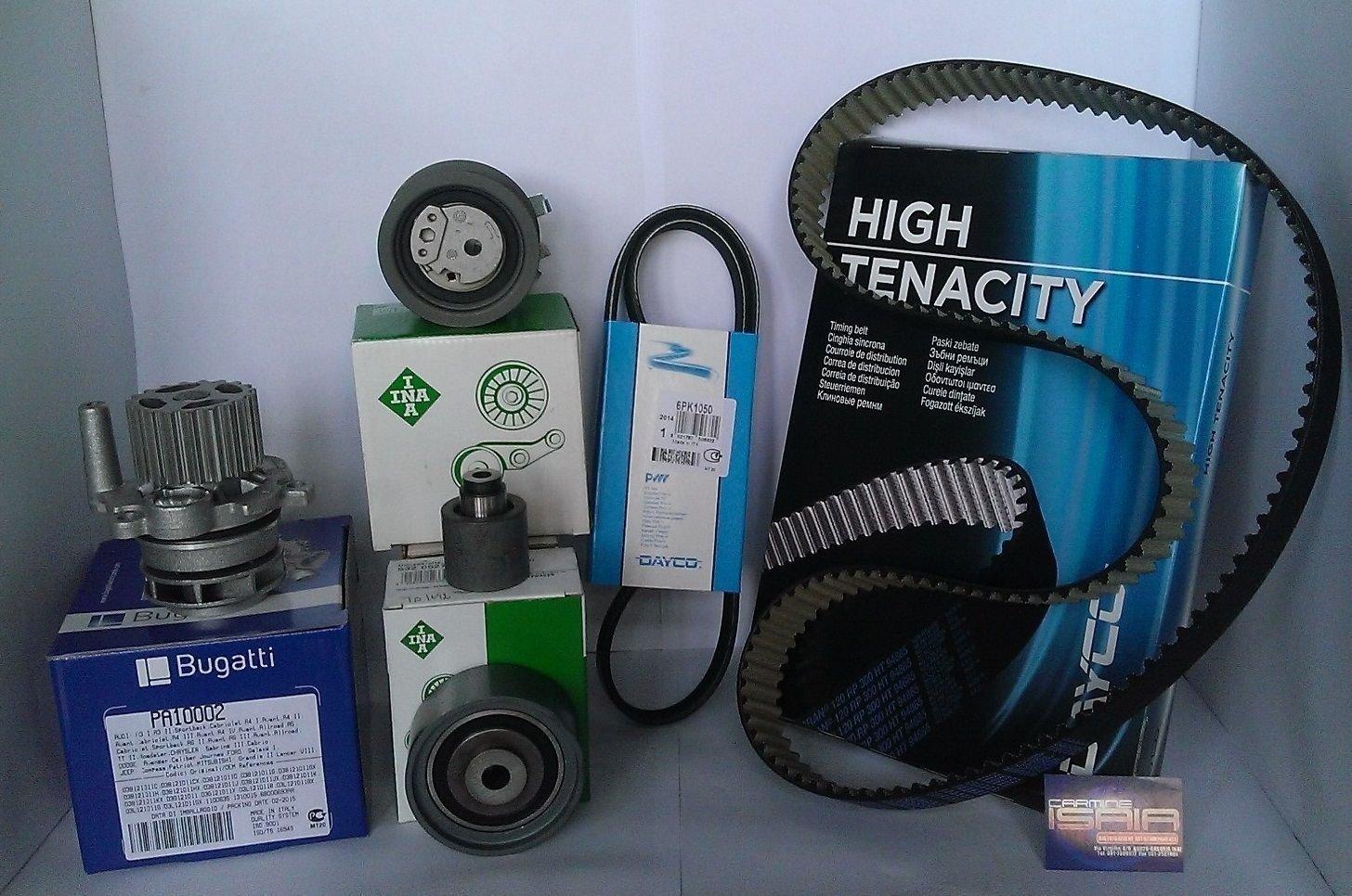 Kit distribución orig Ina (1 K1) 6pz + Bomba Agua + Correa Serv VW Golf V 2.0TDi: Amazon.es: Coche y moto
