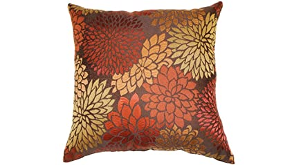 Brentwood Originals 2476 Rapture Toss Pillow, 18-Inch, Harvest