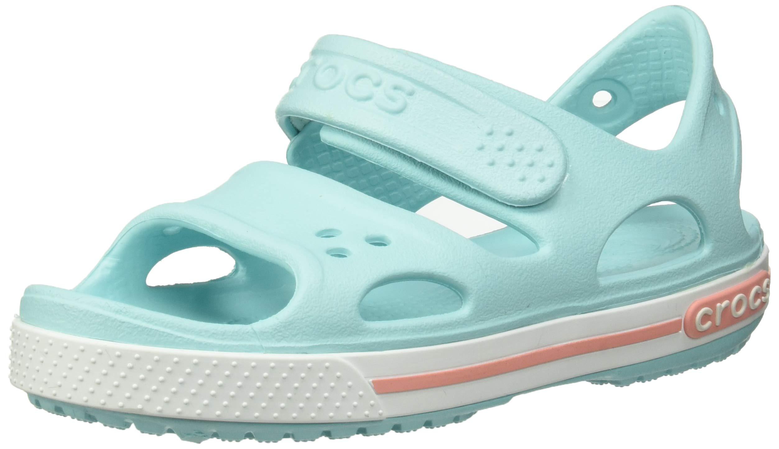 Crocs Kid's Boys and Girls Crocband II Sandal | Pre School Water Shoe Ice Blue 7 M US Toddler