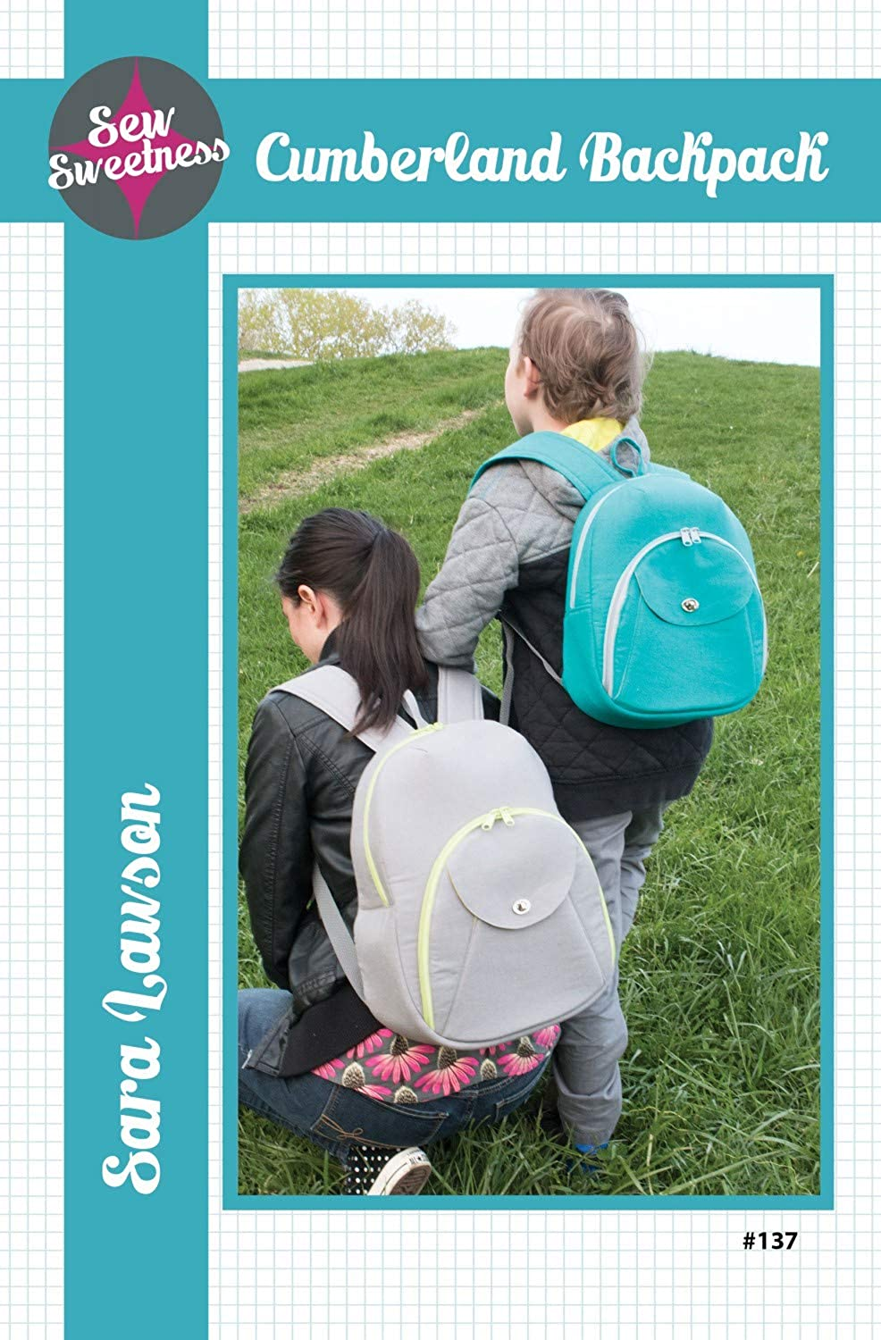 Cumberland Backpack 2 Sizes by Sew Sweetness