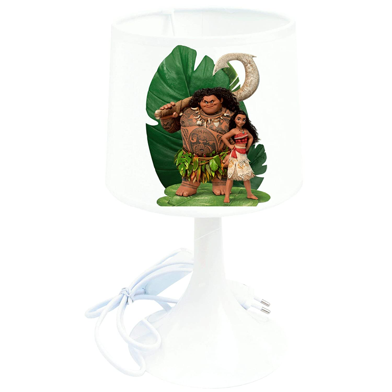 Lampe /à poser enfant Vaiana Moana et Maui Lampe de chevet de cr/éation