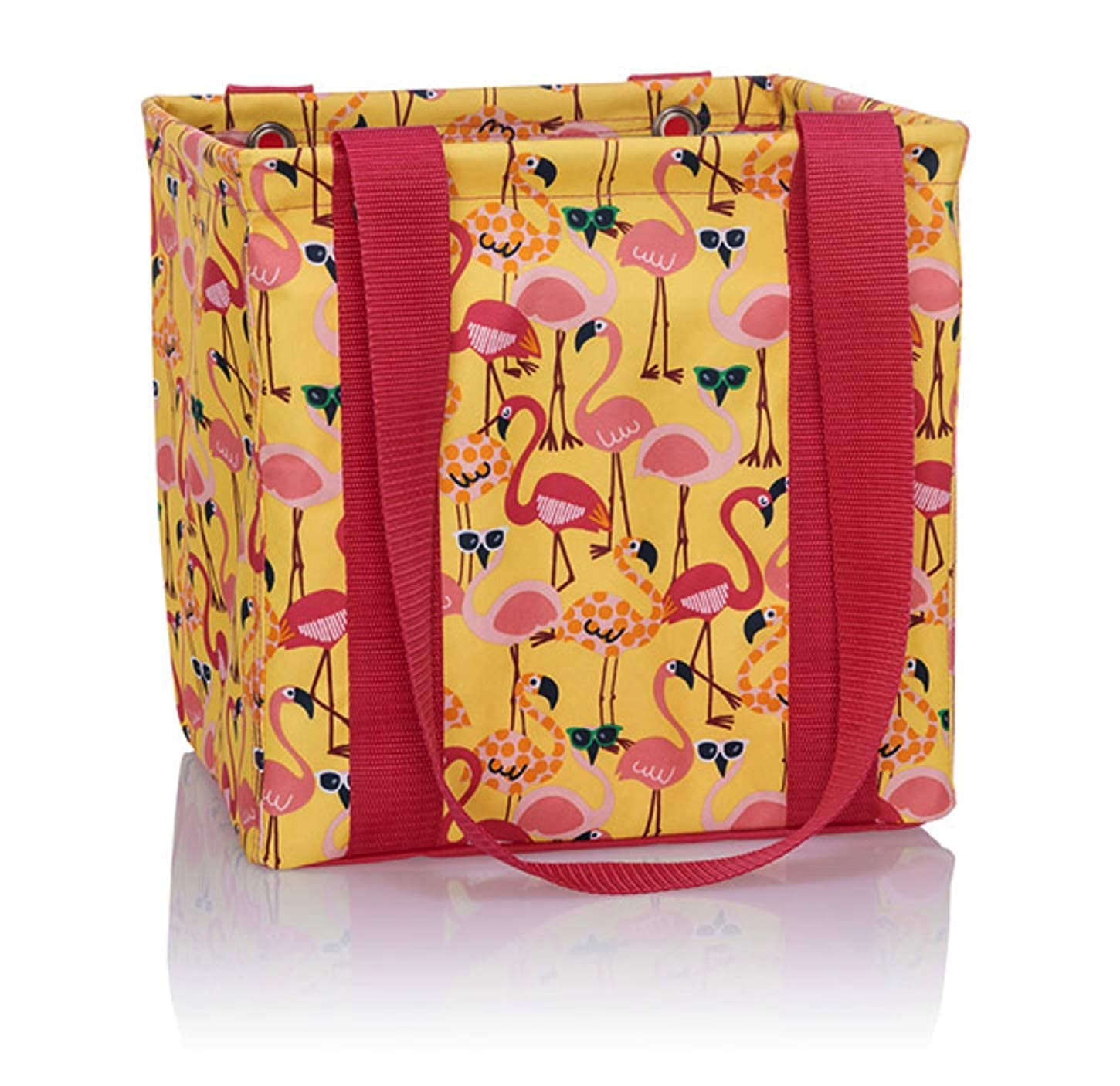 9cdf9bd792c Thirty One Small Utility Tote - 9337 - No Embroidery - in Let's Flamingle