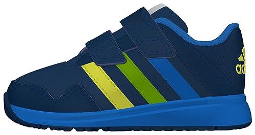 Sneakers blu con chiusura velcro per unisex Adidas Snice JXM7pU