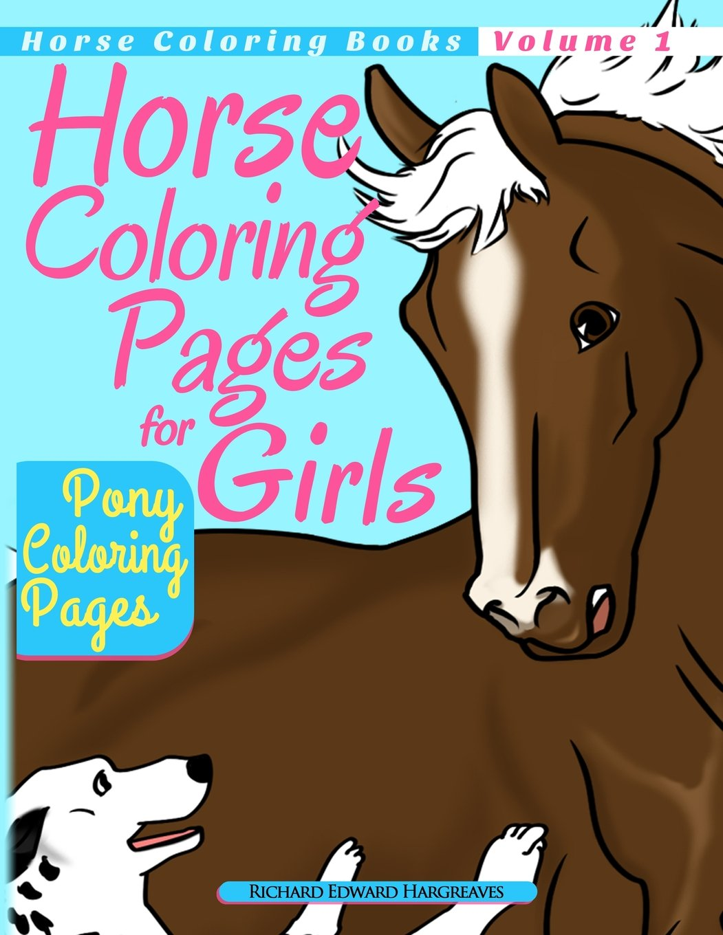 Horse Coloring Pages for Girls - Pony Coloring Pages (Horse Coloring ...