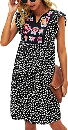 blue white red checkered knee length cotton with noble lining strap dress Dress