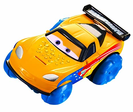 Mattel Disney/Pixar Cars, Hydro Wheels, Jeff Gorvette Bath Vehicle