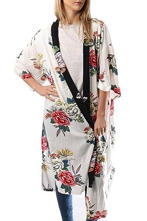Style Slice Kimono 2 Colours Premium Dressing Gown Robe Satin Silk