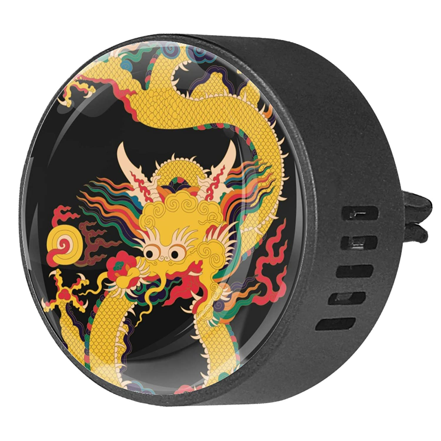 China Cloud Dragon Aromatherapy Air Freshener Vent Clip for Car Office Home Pack 2, Orchid