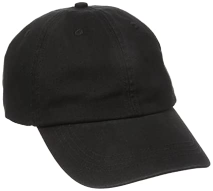 d4022553 Alternative Men's Basic Chino Twill Cap, Black, One Size: Amazon.co ...