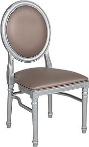 Flash Furniture HERCULES Series King Louis Chair