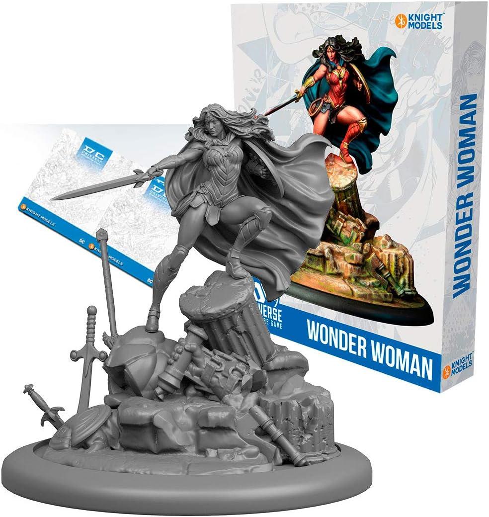 Wonder Woman English Knight Models Miniarturenspiel Harz DC Universe