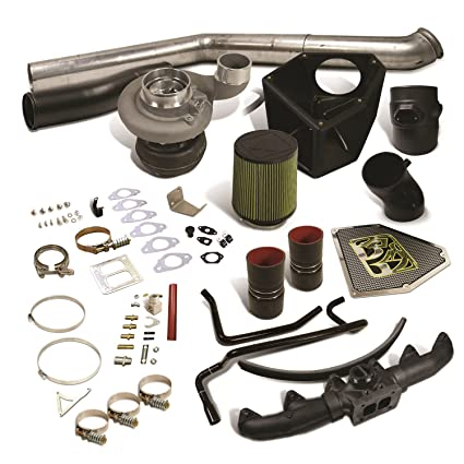 BD Diesel 1045734 Rumble B Turbo Kit S363SX-E Incl. Turbo/Turbine Blanket