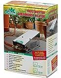 Bio Green Gasheizung Frostwächter Mini 800 W, Edelstahl, für Frühbeet, Gewächshaus und Hochsitz