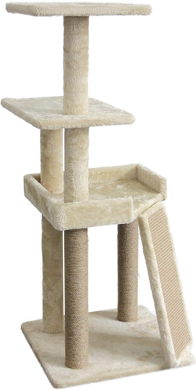 Basics Cat Tree with Platform, Regular Sizes