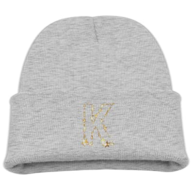 OQHO12 K Kids Hat Warm Soft Fashion Cute Knitted Cap for Autumn Winter