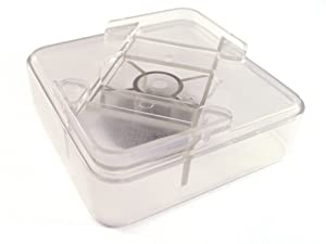 "Headwind Consumer Products RAISE ITS 830-0533-S Furniture Riser, Clear 1""x4""x4"" (8 count)"