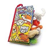 Jellycat Soft Cloth Books, Fluffy Tails