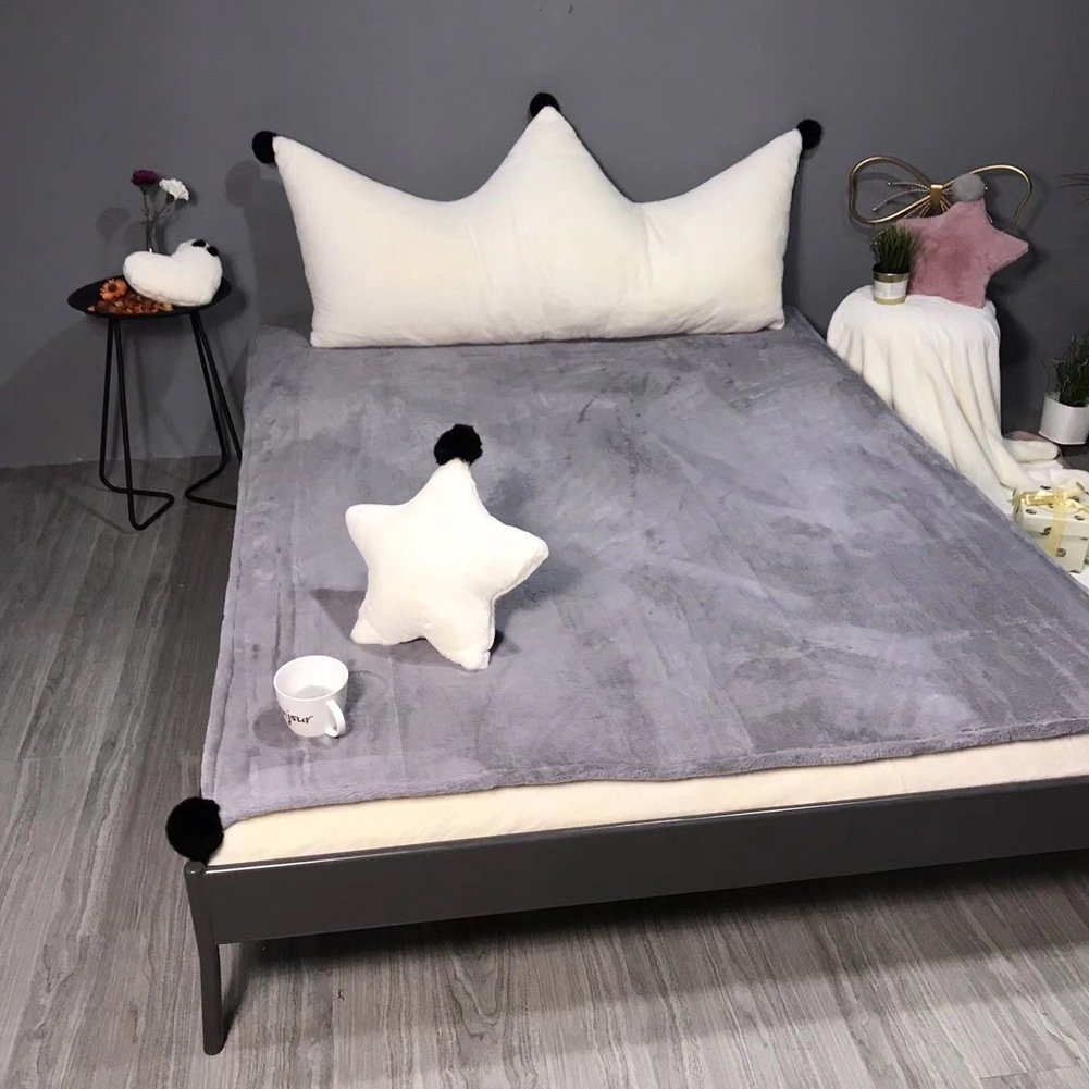 GX&XD Multifunction lovely Tatami floor mat,Anti-skidding Thicken Folding mattress Tatami mats Floor lounger cover Floor mattress Carpet Creeping mats-D Queen2