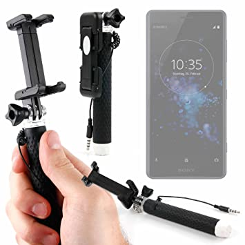 DURAGADGET Palo Selfie (Selfie-Stick) para Smartphone Sony Xperia ...