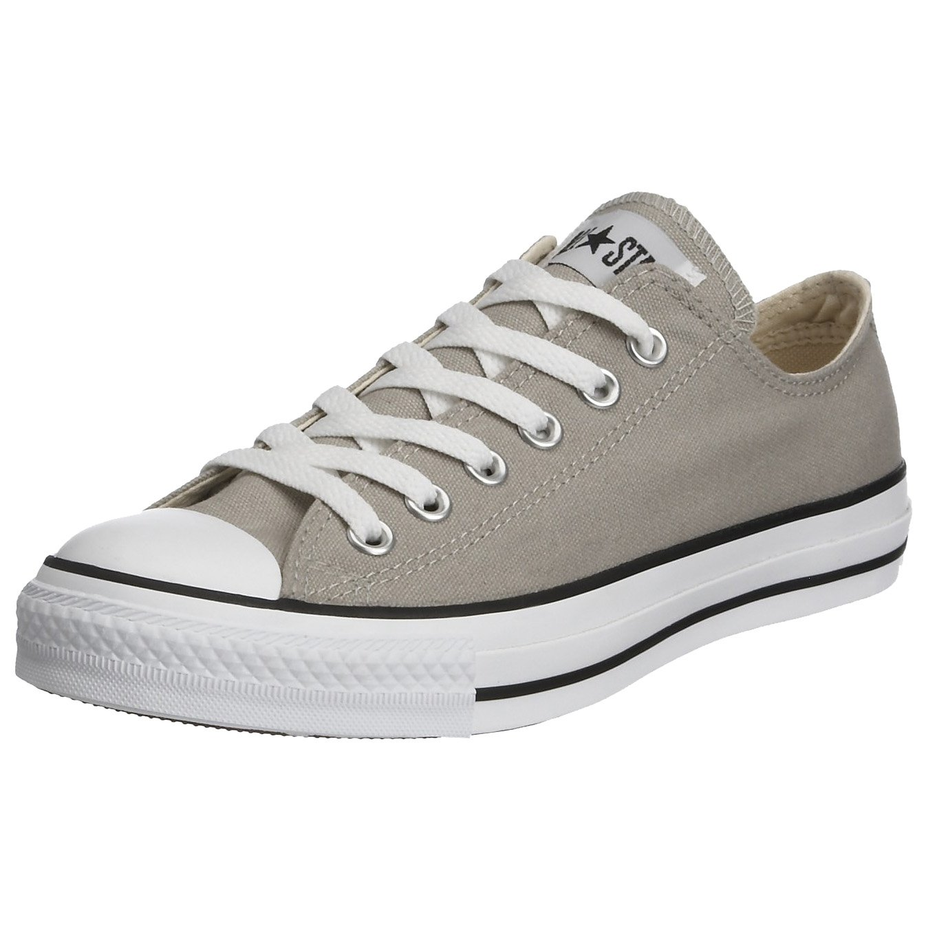 Converse Chuck Taylor All Star Season OX, Unisex Sneaker  12.5 Grau