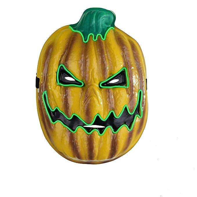 Amazon.com: Máscara de calabaza de Yostyle para Halloween ...