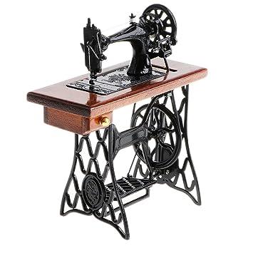 Amazon.es: Homyl Juguete Infantil Figura de Máquina de Coser Marrón en Miniatura Vintaje Juego Creativo Adorno de Casa de Muñecas a Escala 1/10: Juguetes y ...