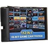 112 in 1 ゲームカード ゲームソフト ゲームカセット for セガ ジェネシスゲーム カートリッジ 内蔵112ゲーム クラシック 人気 ゲーム