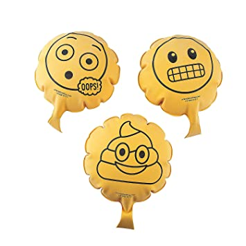Amazon.com: Emoji Whoopee cojines – 12 ct: Toys & Games