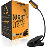 Giftable Amber Book Light - Blue Light Blocking - Night Reading Light by Amber Light Store. Rechargeable. 1600K for Reading i