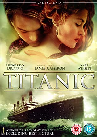 Titanic Dvd 1997 Amazon Co Uk Leonardo Dicaprio Kate Winslet