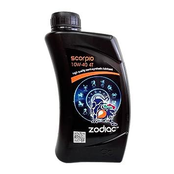 Aceite Motor Coche Moto Scooter Zodiac Scorpio 10 W40 4T ...