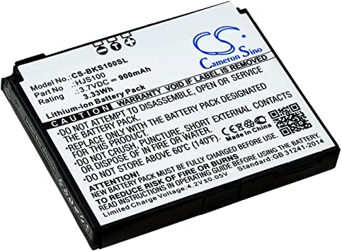 Battery for GPS Navigation Becker HJS-100: Amazon.de: Elektronik