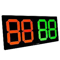 SICHTKRAFT Auswechseltafel für Spielerauswechselung, Mechanisch, Wetterfest, Sichtbarkeit über 100m. Fußball, Handball, Basketball.