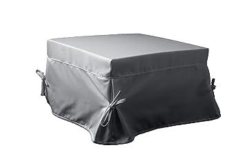 Ponti Divani Puff cama plegable, cama otomana, colchón incluido! Tapicería de tela. Producto MADE IN ITALY!!!: Amazon.es: Hogar