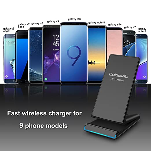 Cubevit 10W Fast Wireless Charger, QI