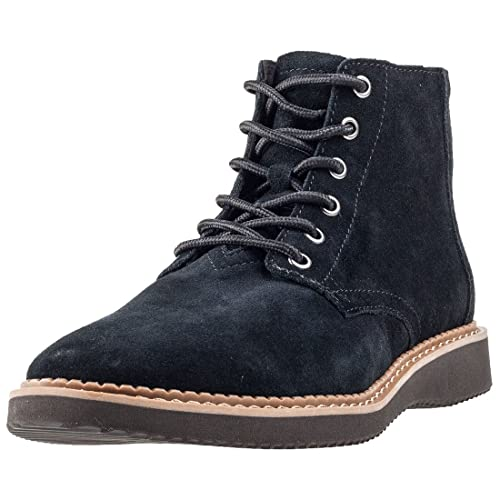 a0461d40a0b TOMS Men s Porter Suede Boot Black Suede 7 D(M) US  Buy Online at ...