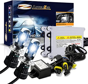 Ice Blue 2 Year Warranty Innovited 55W Performance Xenon HID LightsAll Bulb Sizes and Colors with Digital Ballast H4-3 9003-8000K Bi xenon HI//LO