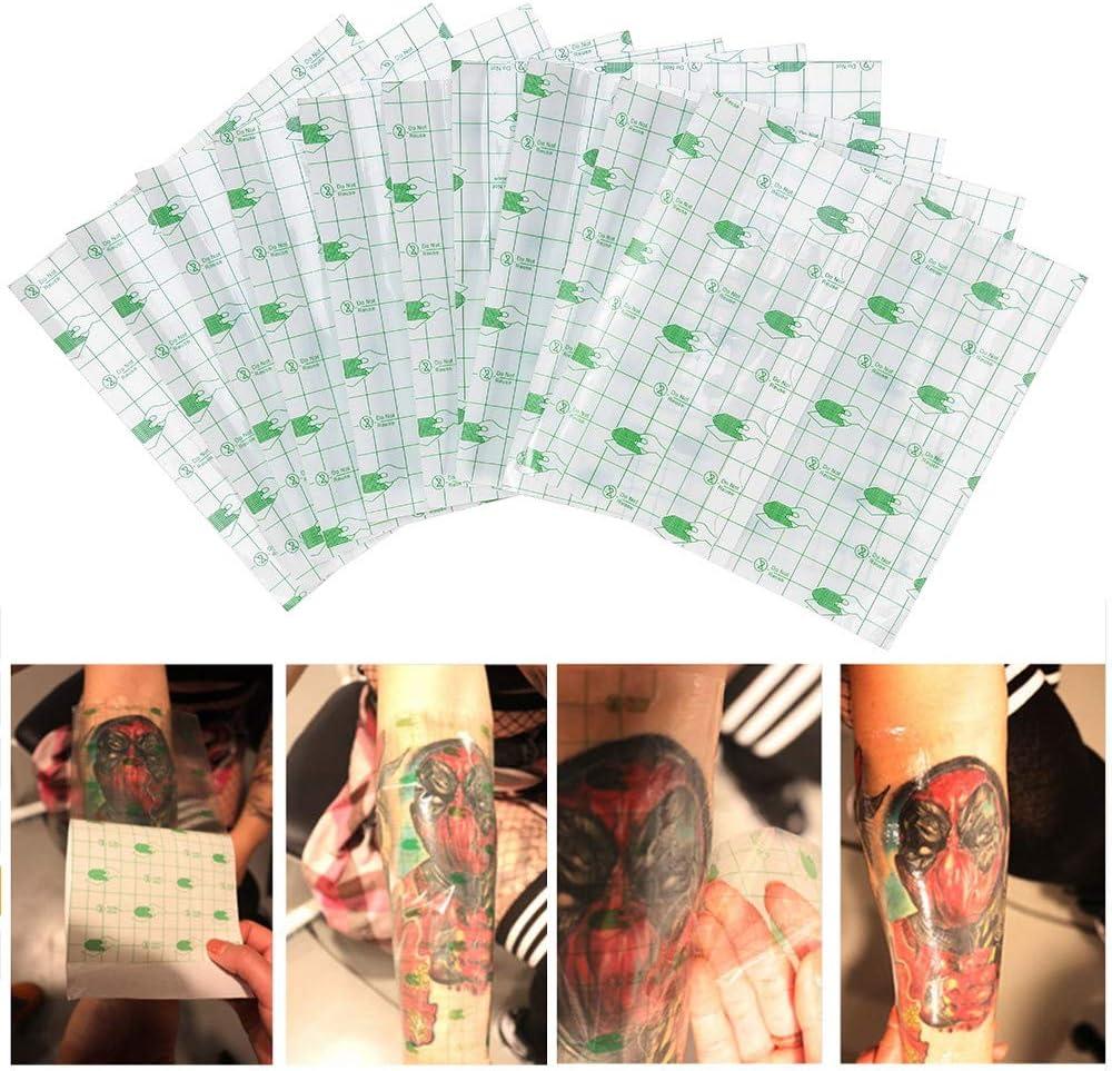 Rollo de vendaje de tatuaje, 10 piezas de reparación de tatuajes a ...