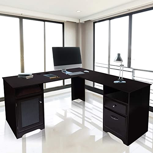 GOOD GRACIOUS L-shaped desk