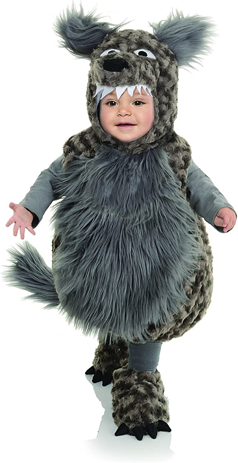 Toddler's Wolf Belly Babies Costume