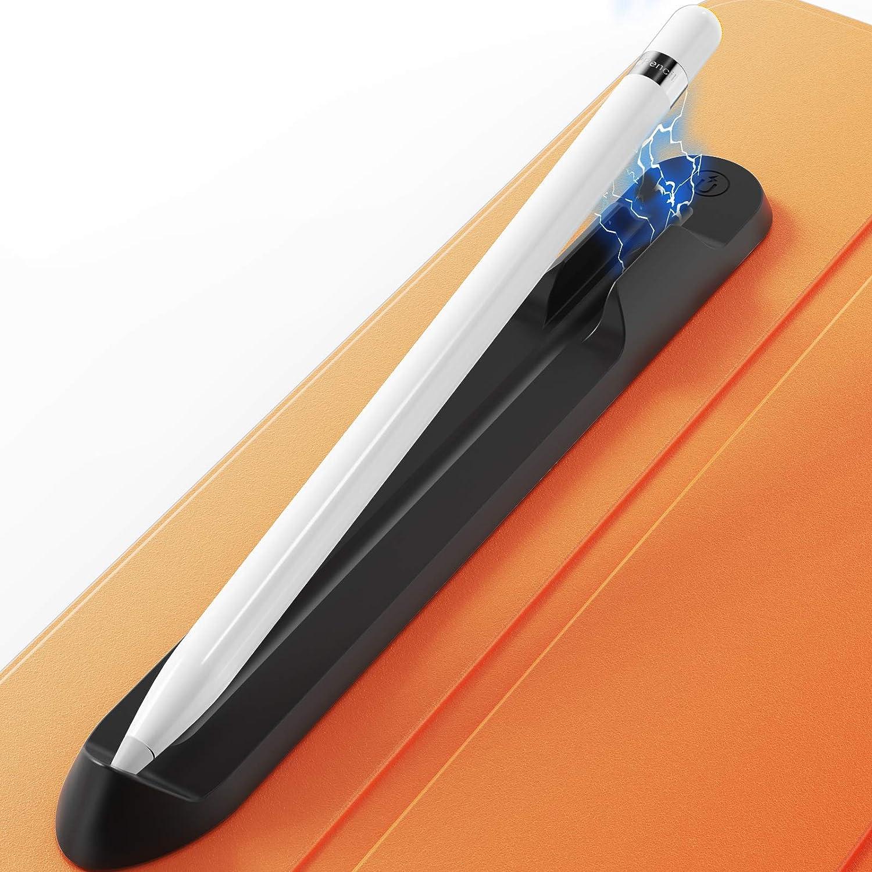 Portalapiz para Apple Pencil 1ra y 2da generación (Negro)