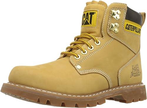 Plain Soft-Toe Work Boot: シューズ